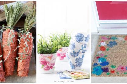 9 Ideas for Spring DIY Home Decor