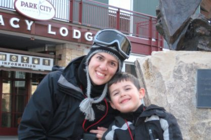 Park City Ski Resort With Mom