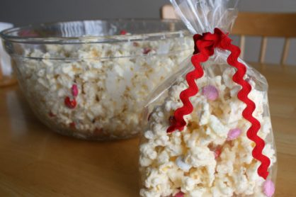 White Chocolate Candy Popcorn