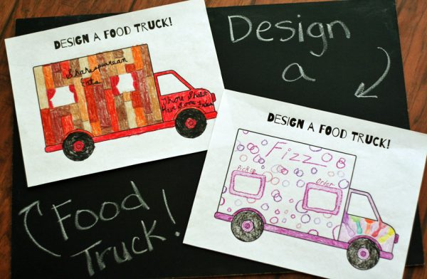 Design a Food Truck Printable