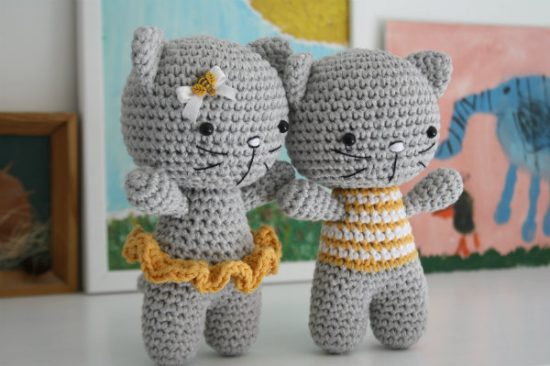 Cute Amigurumi Keychains Free Crochet Patterns | 366x550