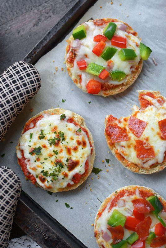Freezer English Muffin Mini Pizzas