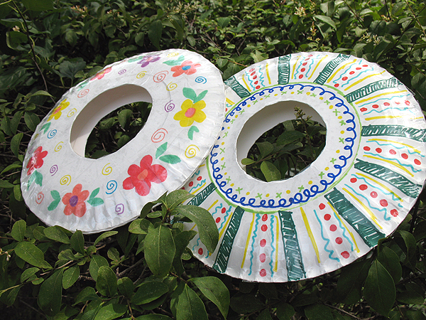 Summer Camp For Kids Paper Plate Frisbees Make And Takes