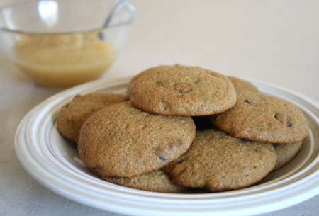 Chocolate Cake Mix Cookies Made With Applesauce