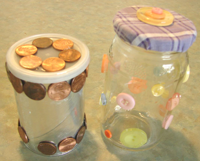 Decorating Recycled Jars Make And Takes