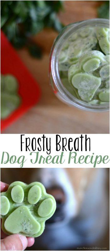 Frosty Breath Dog Treats