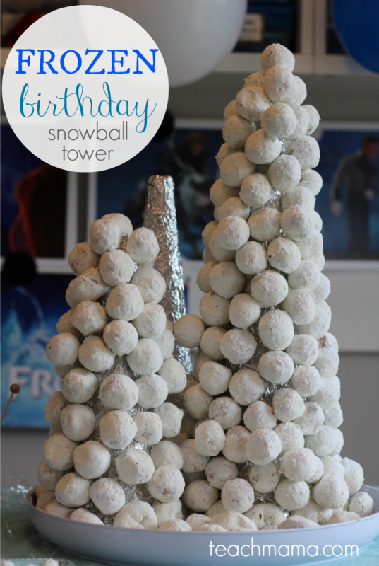 frozen-birthday-cake-snowball-tower-teachmama.com_
