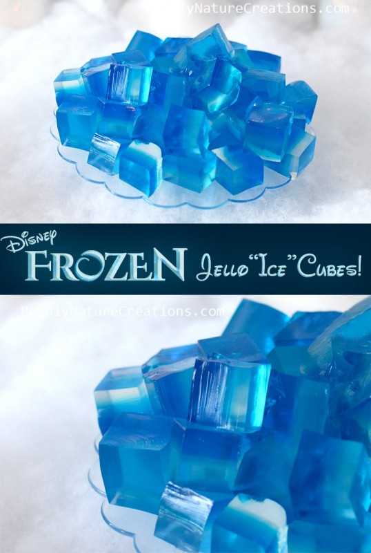 Frozen Inspired ice jello
