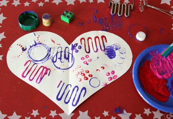 Jumbo valentine hearts