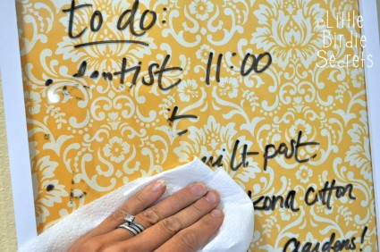 Wipe-Off To Do List Board