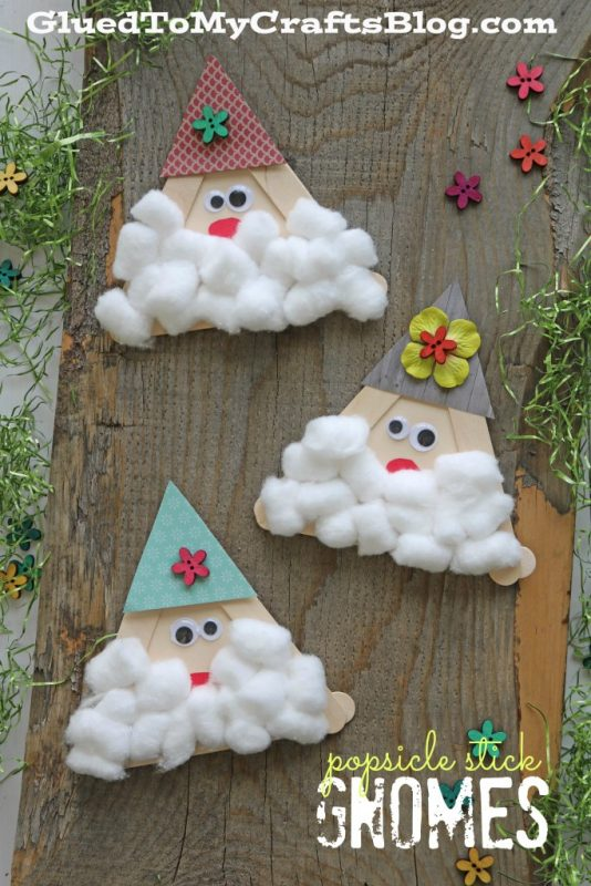 Popsicle Stick Gnomes