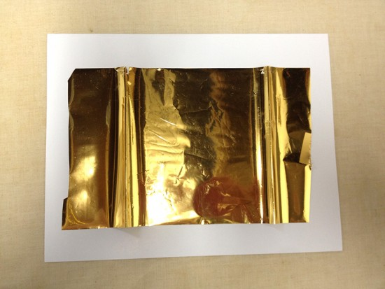 gold foil hallelujah 2