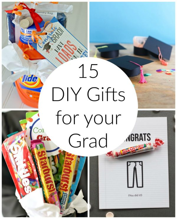 15 DIY Gifts for your Grad
