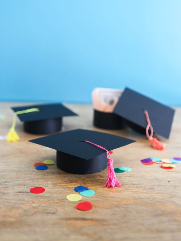 Graduation Cap Gift Boxes DIY