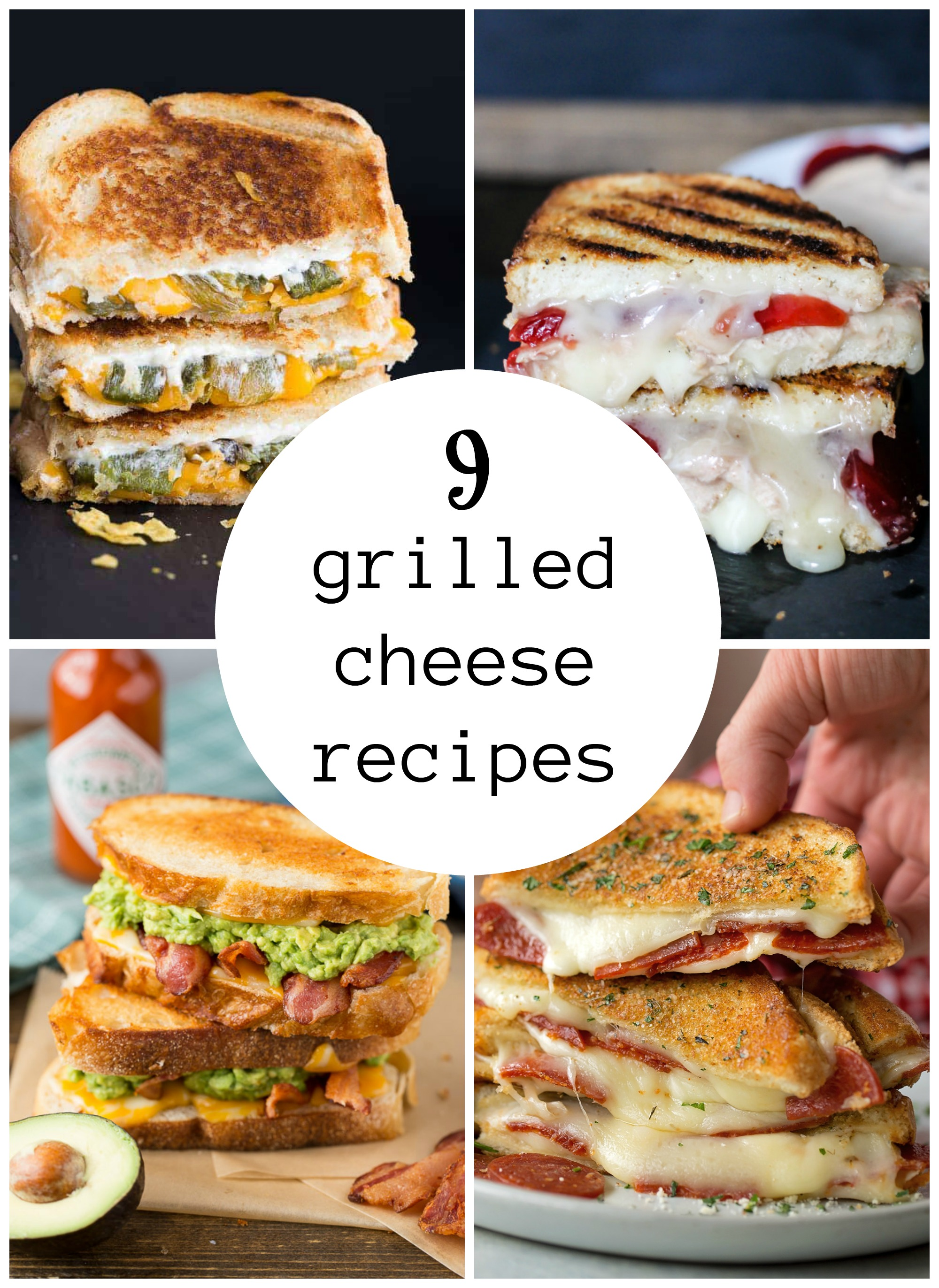 9 Grilled Cheese Sandwich Recipes