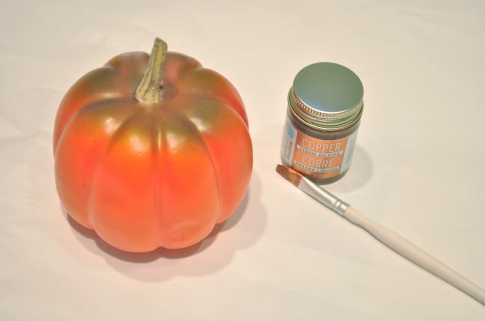 guilded pumpkin tutorial