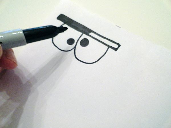 paper cut in eye