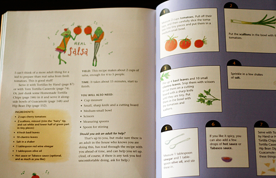Salsa recipe from Honest Pretzels Cookbook
