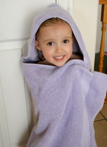 Sew Up an Easy Hooded Bath Towel