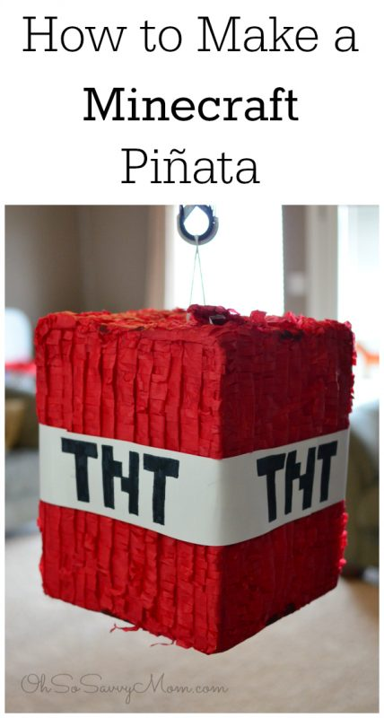 Minecraft Piñata