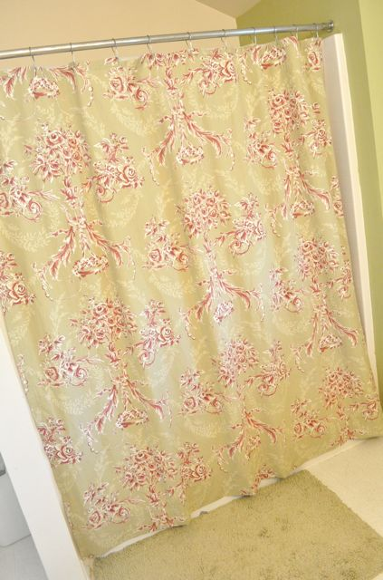 How to Make a Shower Curtain From a Bed Sheet