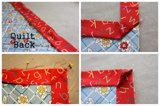 Fast Machine Quilt Binding 101 - Diary of a Quilter - a quilt blog : quilts corner - Adamdwight.com