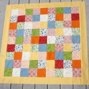 Sewing on Quilt Borders