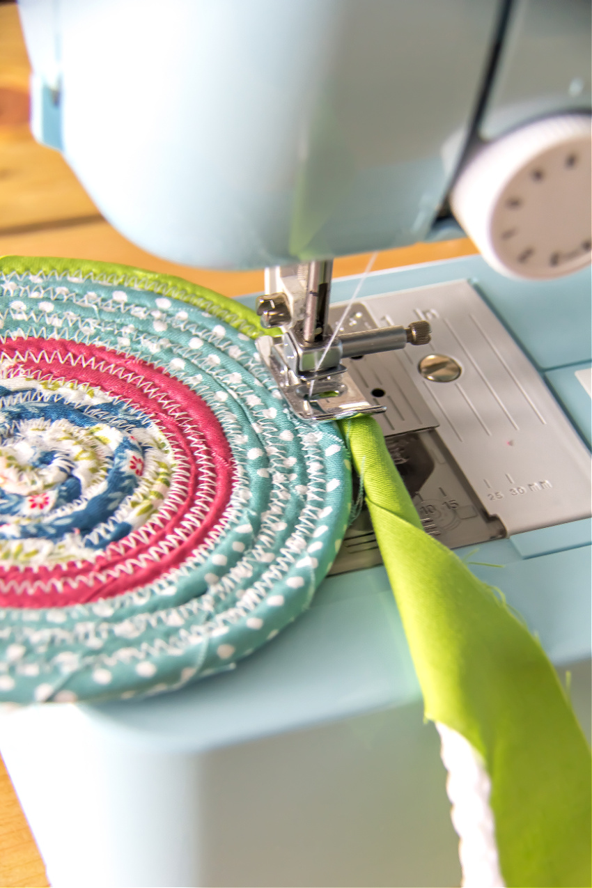 how to sew a rag rug
