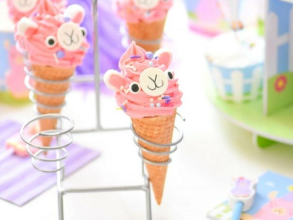 Little Llama Ice Cream Cone Treats