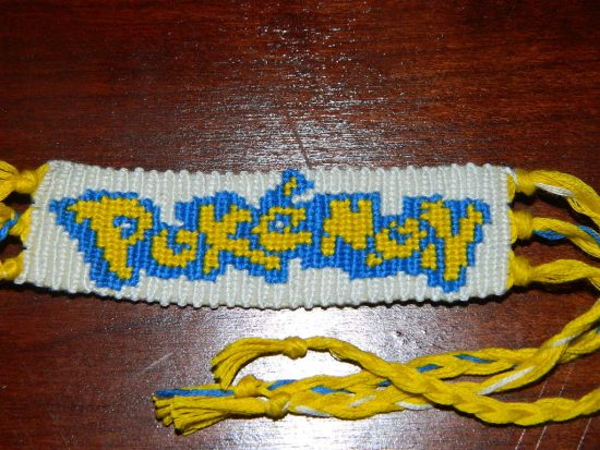 Pokémon Friendship Bracelet