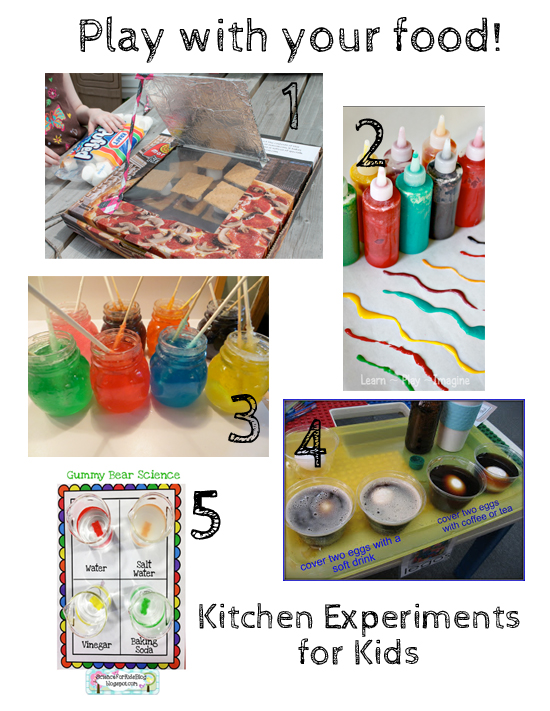 Food science projects food 10 kitchen science experiments for kids make and takes forumfinder Images