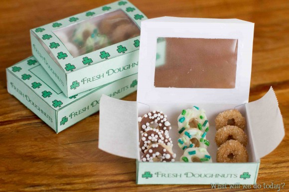 10 Ways to Catch a Leprechaun Mini Doughnuts Trap