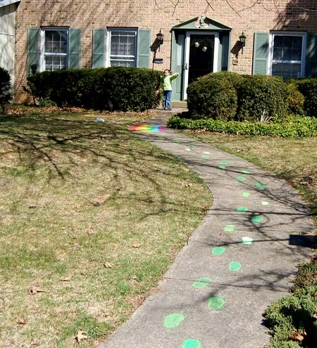 10 Ways to Catch a Leprechaun Footsteps