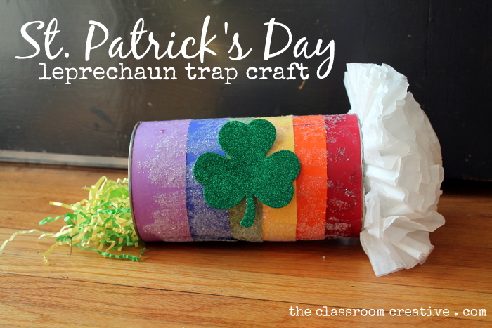 Leprechaun Trap Kid's Craft