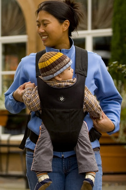 Belle Baby Carrier Black
