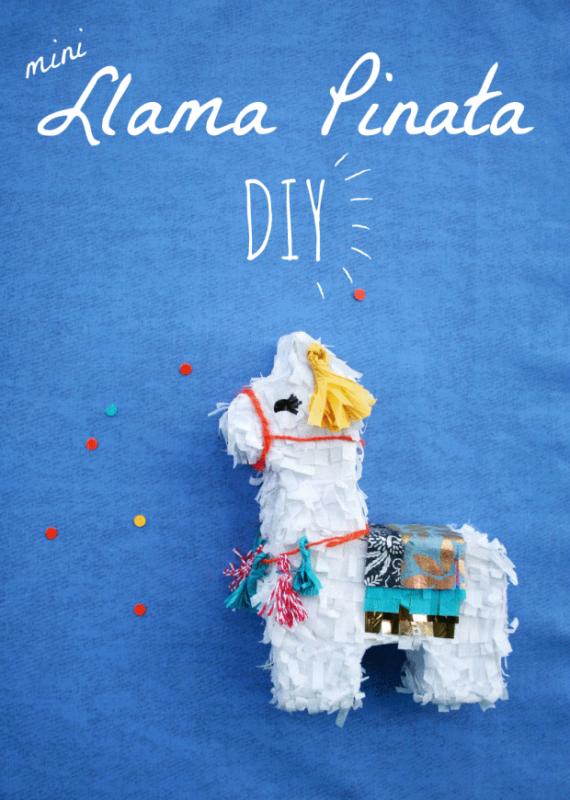 Mini Llama Piñata DIY