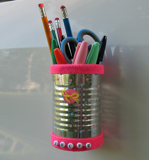 Back to School: Locker Pencil Holder | Make and Takes