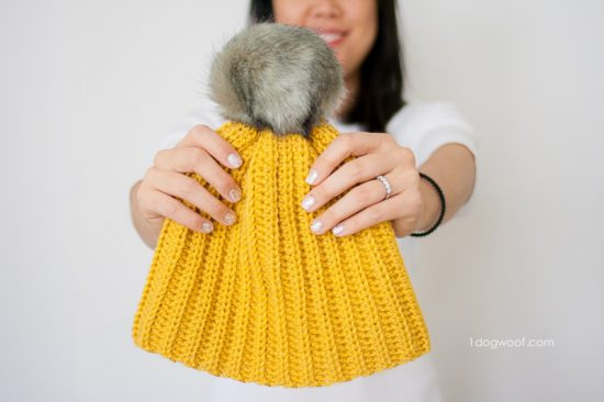 lollypoms-ribbed-beanie-mustard-1
