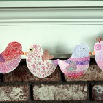 Paper Chain Lovebirds