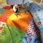 Sewing the Quilt