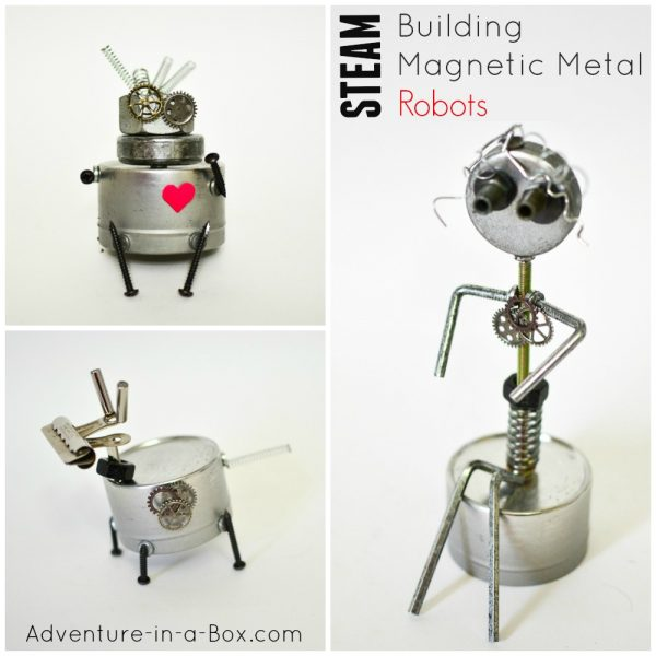Build Magnetic Metal Robots
