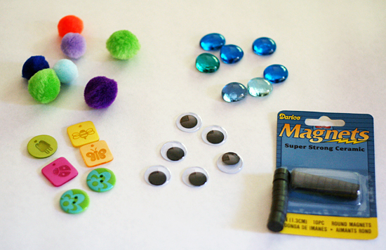 Magnet craft supplies