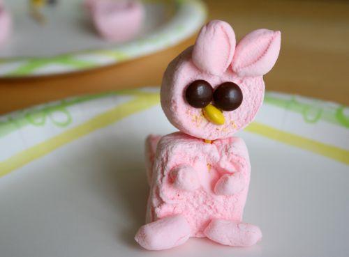 Homemade Marshmallow Bunny