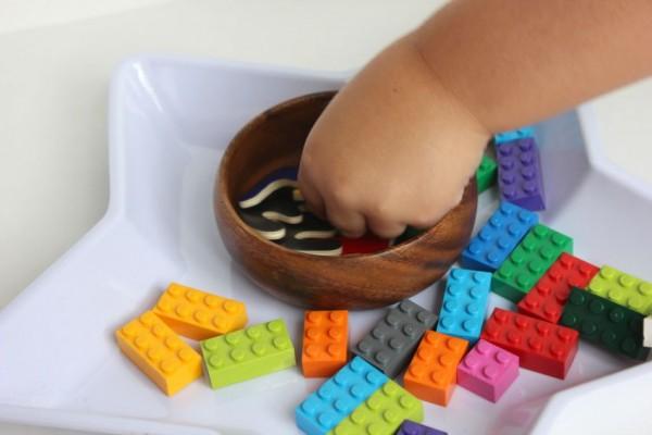 math with Legos