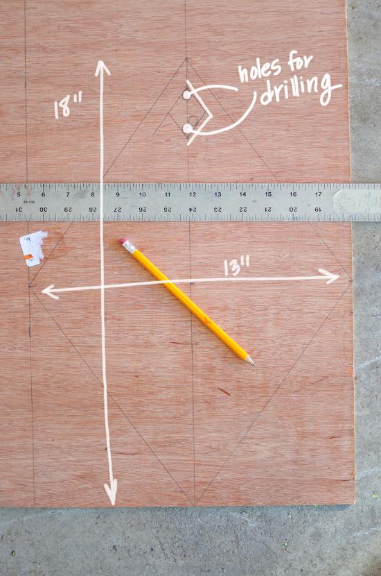 measuring chalkboard wreath
