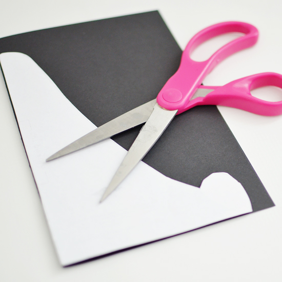 cutting Paper Easel
