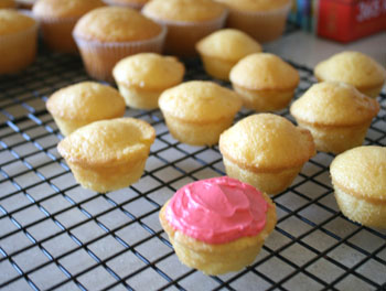 for mini muffins, cupcakes and puffy crowns, or muffin tops, popovers ...