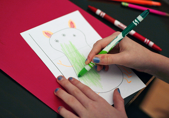 Create and draw silly monsters