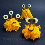 Mini Monster Cheese Balls