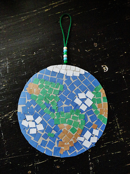 Finished Mosaic Earth